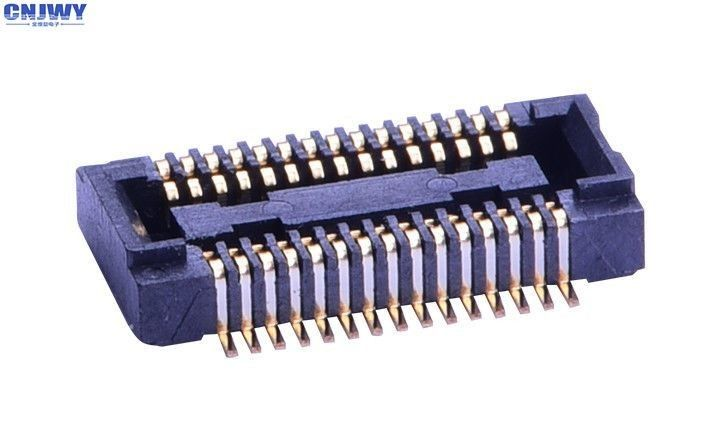 Low Profile PCB Board To Board Connector Vertical Base Height 1.5 Mm
